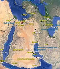 Dead Sea Map The Dead Sea