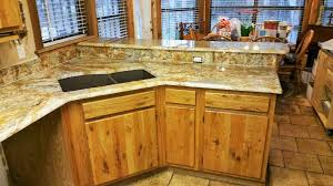 Home Decor San Antonio Geriba Gold Granite Neutral Rustic Kitchen Remodel Granite
