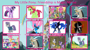 Mlp Fim Meme - mlp fim controversy meme my version by sixshooteroutlaw on