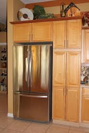 kitchen cabinets refrigerator cabin remodeling cabin remodeling kitchen cabinet refrigerator