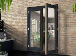 Oak Patio Doors Doors Patio Doors Premium External In Oak Or White Vufold