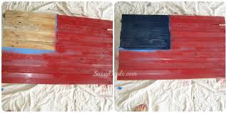 How To Hang The American Flag Vertically Diy How To Make An American Flag Out Of A Wood Pallet Step By
