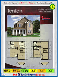 tenton rochester modular home two story plan price