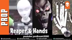 Halloween Monster Hands Grim Reaper Pvc With Cpvc Hands Prop Halloween Yard Haunt How To