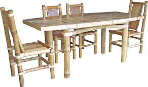 Bamboo Dining Table Set Beautiful Bamboo Dining Room Table Contemporary Mywhataburlyweek