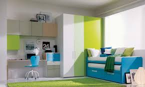 Bedroom Blue And Green Decoration View In Gallery The Blue And Green Combination Is Very