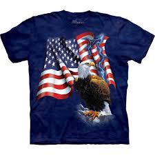 Eagles Flag Patriotic T Shirt Eagle Flag 32 99 U20ac The Mountain Shirts Onlin