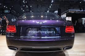 bentley purple 2014 bentley continental flying spur rear indian autos blog