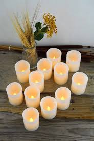 12 led wax votive candles battery operated candles ctgo event