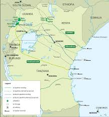 East Africa Map Whatever Happened To East Africa U0027s Oil Boom African Arguments