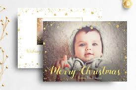 christmas card photoshop template card templates creative market