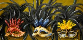 mardi gras mask for sale mardi gras masks painting by sherry hendrick