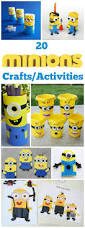free minions colouring book printable and minion craft roundup
