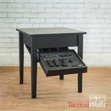concealment end table tactical walls home defense concealment
