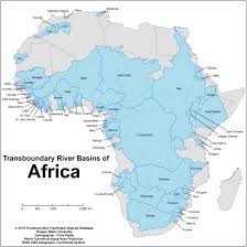 Rivers Of Africa Map by Maps And Images Gallery Water Conflict Management And