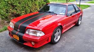 Red Mustang With Black Stripes American Muscle Graphics Mustang Matte Black Gt500 Style Stripes