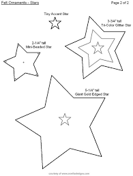free printable felt ornament templates pinteres