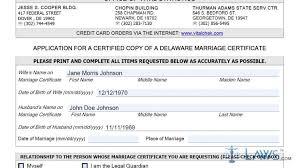 certificate marriage certificate form