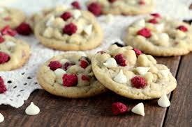 white chocolate raspberry cookies chocolate with grace