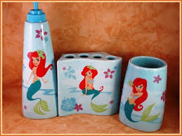 Disney Bedroom Collection by Fanciful Little Mermaid Bathroom Set Closeout Bath Accessories