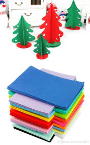 2017 diy polyester felt fabric non woven sheet for craft work kids