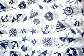 nautical wrapping paper nautical print tissue paper 375 gift wrap paper boat