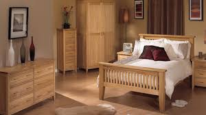 bedroom unfinished oak wooden bedroom furniture with solid slats