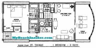 image of floor plan twin palms resort condo floor plans panama city beach