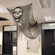 decorate your home for halloween transform your home or office into a haunted house with this huge