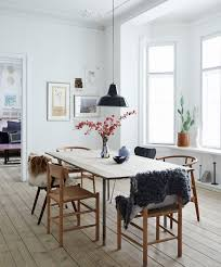 The  Best Scandinavian Dining Rooms Ideas On Pinterest Bright - Home interior design dining room