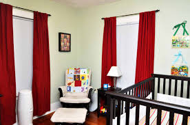 red white and black curtains home design ideas