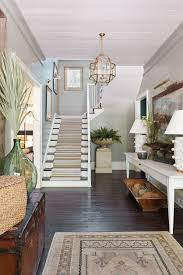 how to decorate a foyer in a home ashley gilbreath u0027s entryway in the idea house how to decorate