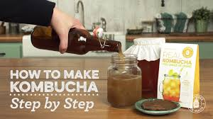 Things To Make At Home by How To Make Kombucha Tea Youtube
