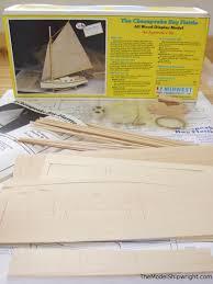 building midwest u0027s chesapeake bay flattie ship model kit the