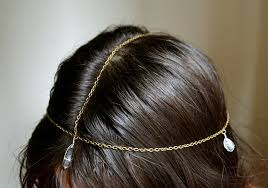 chain headpiece diy bohemian chain headpiece all the go to heaven