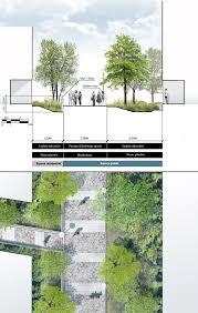 coupe plan sur voie tertiaire urban design pinterest urban