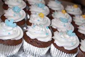 customised cakes by jen baby and duckie blue baby shower cake and