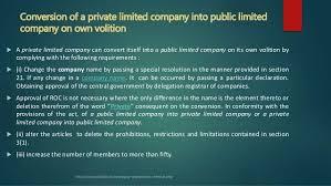 convert company into a company