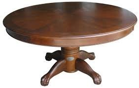 Poker Table Pedestal 60 Inch Round Poker Table And Dining Table Oak