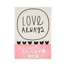 pack of 35 wall stickers love always a little lovely company for pack of 35 wall stickers love always