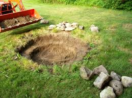 Building A Firepit In Backyard In Ground Pit Kit Makeshift How To Build A With Rocks What