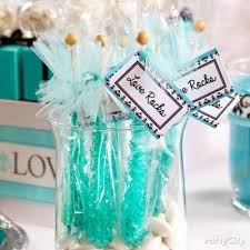 robin egg blue gift boxes robin s egg blue candy buffet display idea party city