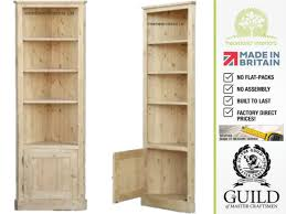 Tall White Bookcase With Doors by Furniture Home Contemporary Six Feet Tall Corner Bookcase Unit