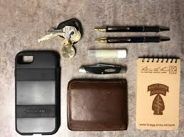 all weather writing paper everyday carry 19 m ohio firefighter emt standard edc kit