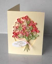 paper daisy cards quilled mother u0027s day card
