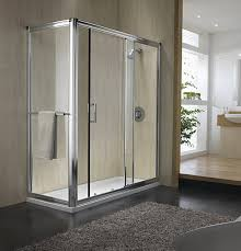 twyford hydr8 sliding shower enclosure door 1000mm h86500cp