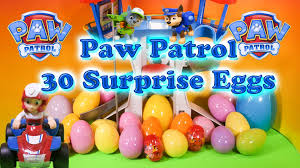 paw patrol nickelodeon funny paw patrol 30 toys candy surprise