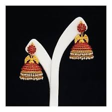 buttalu earrings 22k gold earrings jhumkha jhumki buttalu kempu earring temple