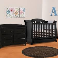 Convertible Cribs With Storage Two Bottom Drawer Crib Best 25 Black Crib Ideas On Pinterest