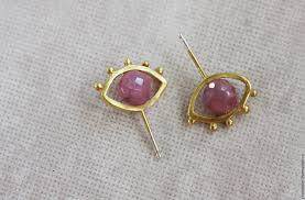 tiny stud earrings gold evil eye stud earrings tiny stud earrings ruby evil eye